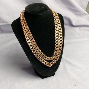 BaubleBar Rose Gold Necklace